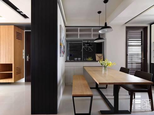 餐廳:  餐廳 by 禾廊室內設計