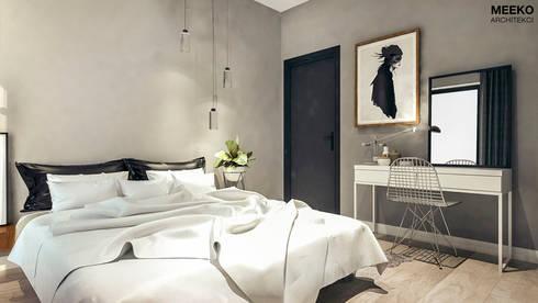 Sypialnia: styl , w kategorii  zaprojektowany przez MEEKO Architekci