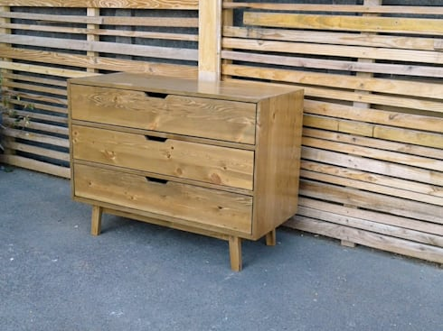 Cooper Compactum 3 Drawers Unit:  Bedroom by Eco Furniture Design
