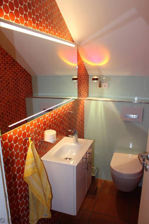 Erneuerung Gäste WC Unter Beibehaltung Der Alten Fliesen