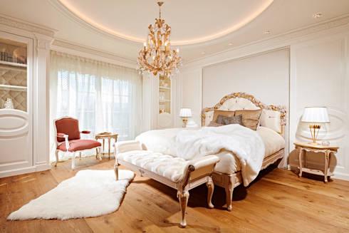 Elegantes Schlafzimmer mit Ankleidezimmer von BAUR WohnFaszination ...