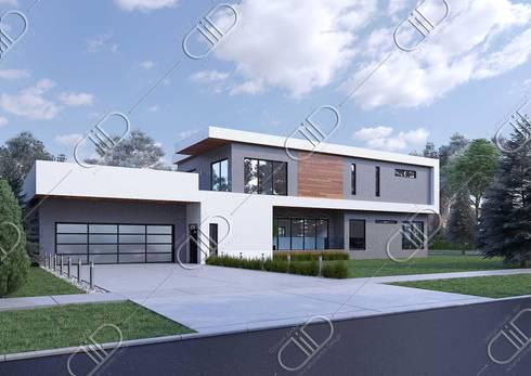 Barber: modern Houses by Design Studio AiD