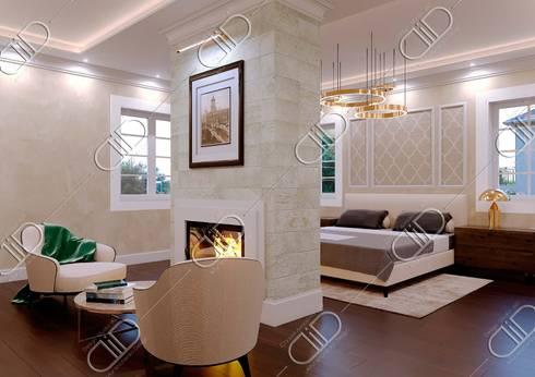 NObelton: modern Bedroom by Design Studio AiD