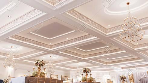 Royal Venetian Banquet Hall: classic Living room by Design Studio AiD