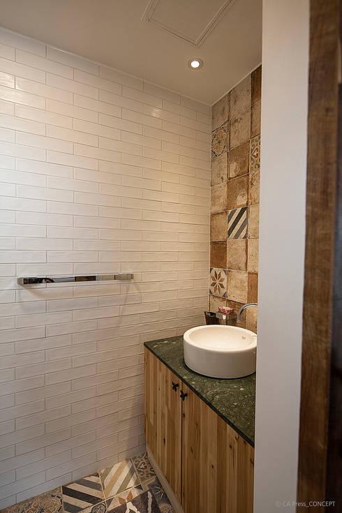 浴室 by 더 이레츠 건축가 그룹
