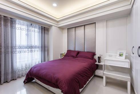 晶亮27坪空間放大術:  臥室 by 好室佳室內設計