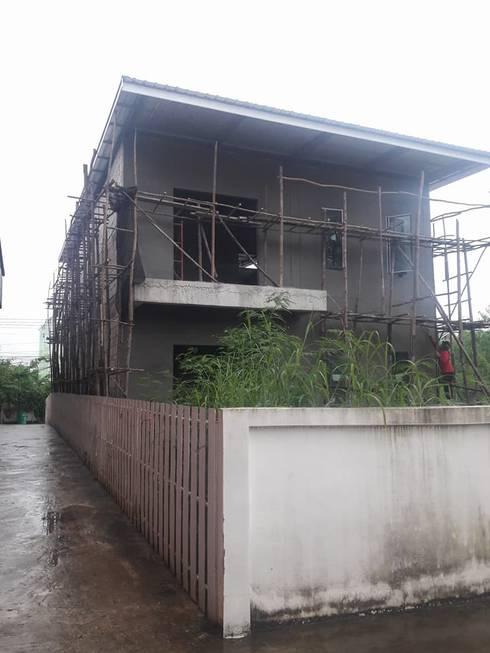 อัพเดตงานในวันฝนพรำ:   by รับสร้างบ้านหนองบัวลำภู