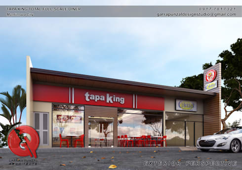 Fast Food Restaurant:  Gastronomy by Garra + Punzal Architects