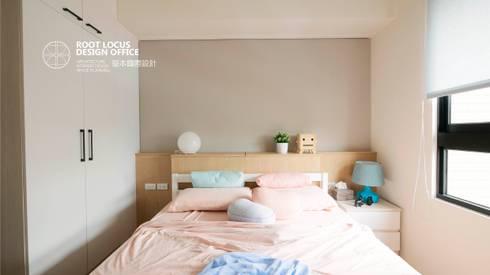台中 陳公館:  嬰兒/兒童房 by 築本國際設計有限公司
