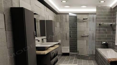Modellazione e Rendering ambienti interni - Bagno moderno by ...