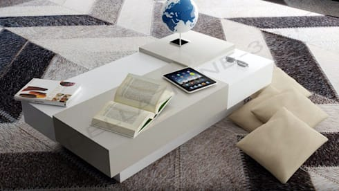 Tavolino salotto moderno von Modellazione-3d.it | homify