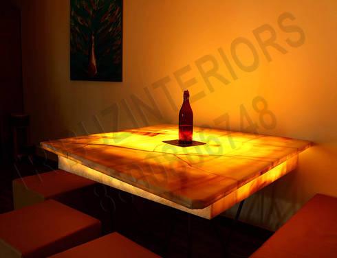 Heritage : modern Dining room by Tribuz Interiors Pvt. Ltd.