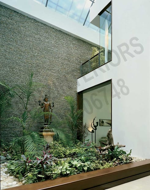 Heritage : modern Houses by Tribuz Interiors Pvt. Ltd.