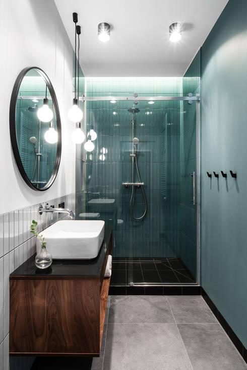 Ванные комнаты в . Автор – Raca Architekci