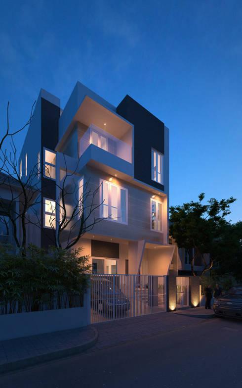 Ayung:  Rumah by sony architect studio