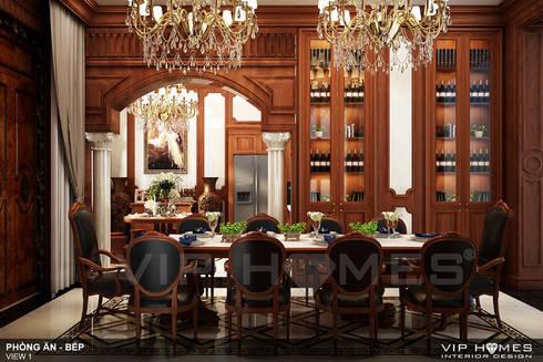 Không gian nội thất phòng ăn:   by Công ty TNHH Không Gian Mo