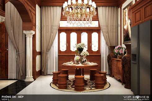 Thiết kế nội thất biệt thự song lập Lakeview City 160m2:   by Công ty TNHH Không Gian Mo