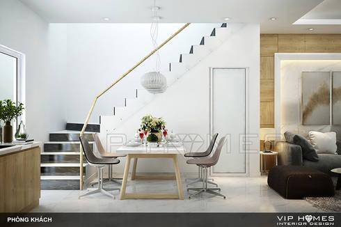 Không gian nội thất phòng ăn và bếp:   by Công ty TNHH Không Gian Mo
