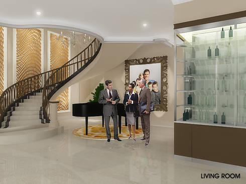 Pantai Mutiara R41:  Koridor dan lorong by sony architect studio
