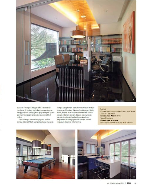 CINERE AT MAJALAH ASRI:  Dapur by sony architect studio