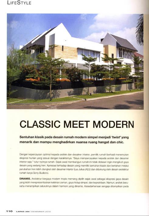 CINERE AT MAJALAH LARAS:   by sony architect studio