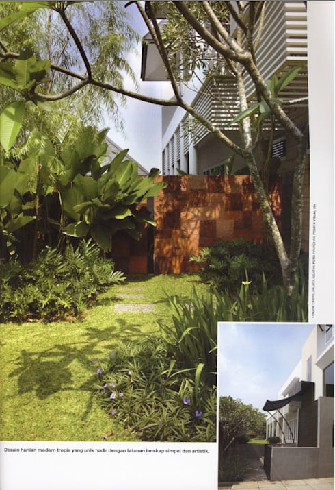 CINERE AT MAJALAH LARAS:  Taman by sony architect studio