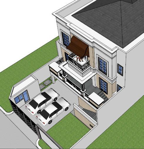 CISADANE 30, MENTENG:   by sony architect studio