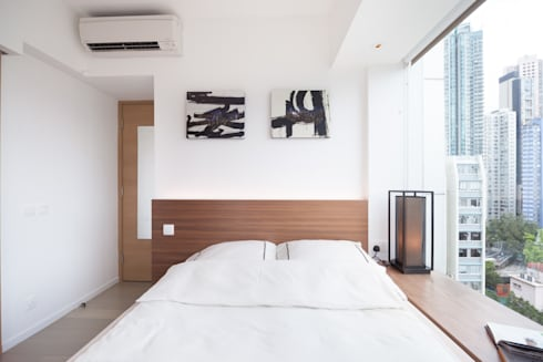 Cherry Crest: scandinavian Bedroom by Clifton Leung Design Workshop