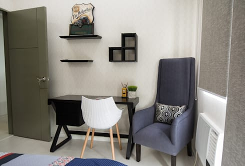 ACE Hotel & Suites: modern Bedroom by TG Designing Corner