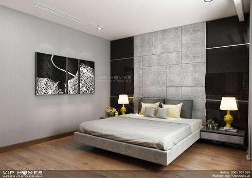 Thiết kế nội thất căn hộ Vinhomes Central Park 150m2:   by Công ty TNHH Không Gian Mo