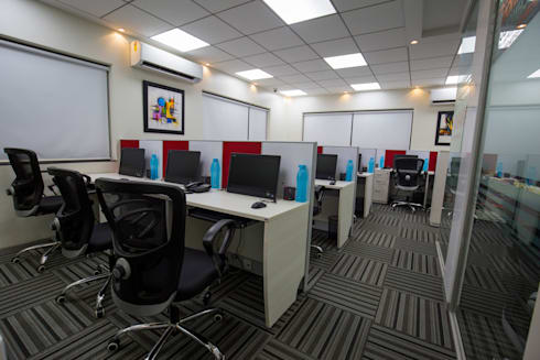 Panama Systems - Kolhapur: modern Study/office by Spaceefixs