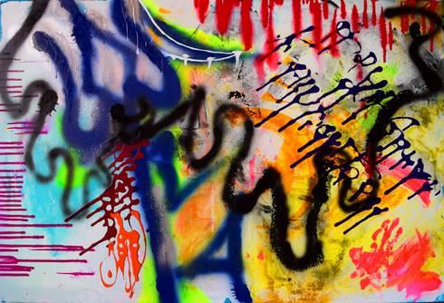 Om Namah Shivay:  Artwork by Indian Art Ideas