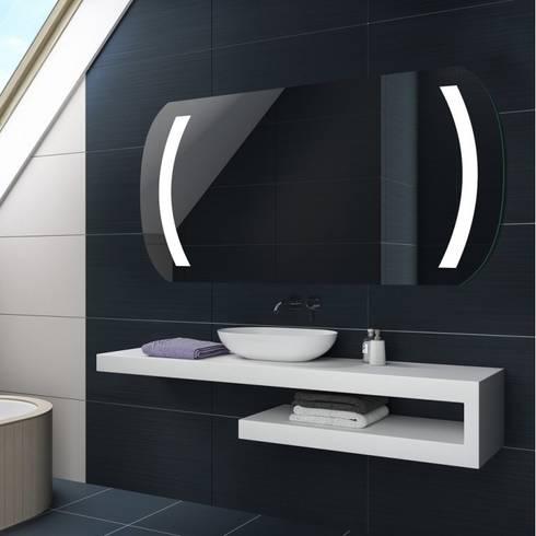 Espejos de ba o con luz led integrada por centro espejos - Espejo bano luz integrada ...