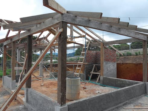 Casa campestre por arcor constructores homify - Constructores de casas ...