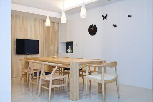 【居家設計】謙謙太子蔡邸--品牌來自於「生活」的價值:  廚房 by 謐境空間策略事務所 - Dimension Scenario Work