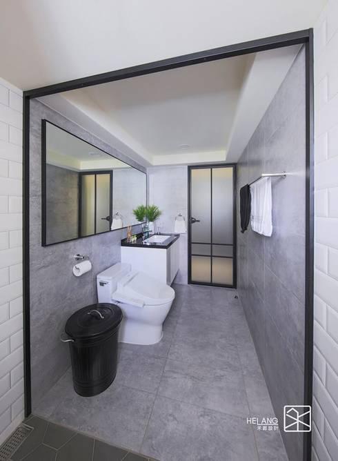 磁磚跳色:  浴室 by 禾廊室內設計