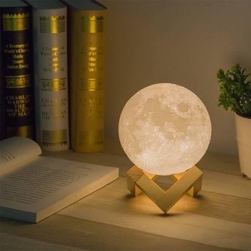 Đèn Mặt Trăng 3D – Sản phẩm mới nhất của Mac Setup:   by Mac Setup