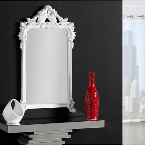 Espejos vintage de centro espejos homify - Colgar espejo pared sin marco ...
