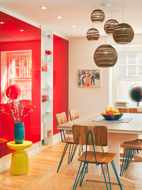 Cohen House: eclectic Dining room by Metcalfe Architecture & Design