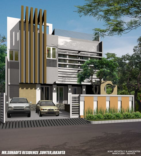 SUHADI SUNTER:   by sony architect studio