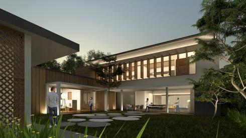 VILLA PUTRI UTAMA:   by sony architect studio