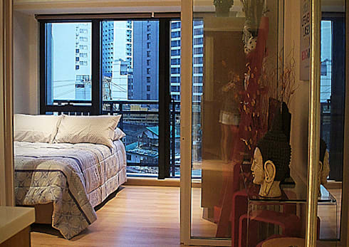 KnightBridge Residences at Makati – One Bedroom:   by SNS Lush Designs and Home Decor Consultancy