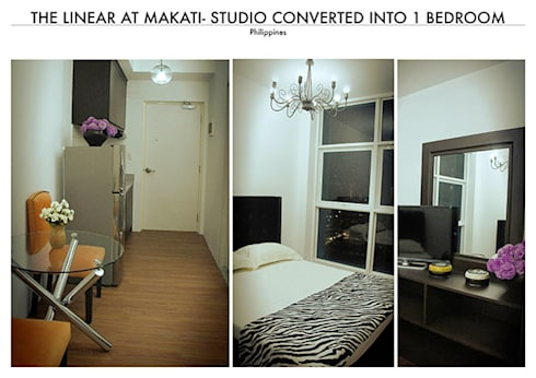 Linear Tower in Makati-Modern Asian Theme:   by SNS Lush Designs and Home Decor Consultancy