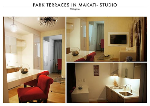 Park Terraces in Makati:   by SNS Lush Designs and Home Decor Consultancy