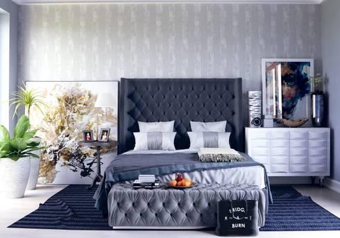 BLUE BEDROOM:   by BDARSITEK