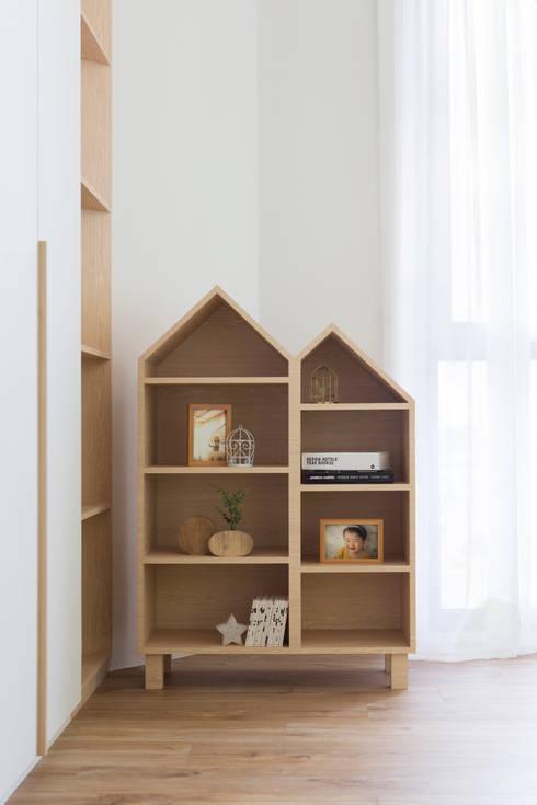THE PROMENADE @ PELIKAT: scandinavian Bedroom by Eightytwo Pte Ltd