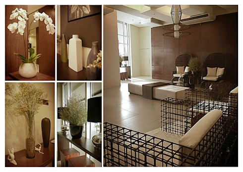 The Beacon Makati Lobby:   by SNS Lush Designs and Home Decor Consultancy