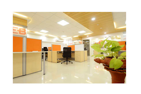 I T Project:  Office spaces & stores  by Nishtha interior