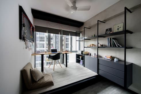 HILLSTA: industrial Study/office by Eightytwo Pte Ltd