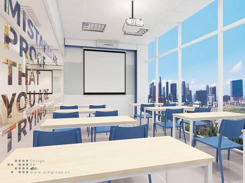 Các phòng học không những đẹp mà còn rất tiện nghi:   by Công ty Cổ phần truyền thông ATH Việt Nam